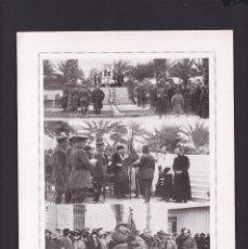 Coleccionismo Papel Varios: MELILLA, EN LA PLAZA DE ESPAÑA - 15 ABRIL 1923 - ORIGINAL RECUPERADO PUBLICACION. Lote 179521126