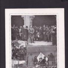 Coleccionismo Papel Varios: SEVILLA - 15 ABRIL 1923 - VIAJE DE LOS REYES - ORIGINAL RECUPERADO PUBLICACION. Lote 179521241