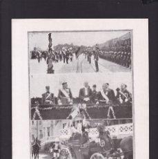 Coleccionismo Papel Varios: SANTANDER - 13 AGOSTO 1922 - VISITA PRESIDENCIAL - ORIGINAL RECUPERADO PUBLICACION. Lote 179523133