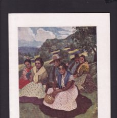 Coleccionismo Papel Varios: A. LOZANO SIDRO, PINTOR - 13 AGOSTO 1922 - DIA DE FIESTA - ORIGINAL RECUPERADO PUBLICACION. Lote 179523400