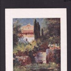 Coleccionismo Papel Varios: G. PALAU, PINTOR - 13 AGOSTO 1922 - PAISAJE LEVANTINO - ORIGINAL RECUPERADO PUBLICACION. Lote 179523468