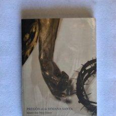 Coleccionismo Papel Varios: SEMANA SANTA SEVILLA. LIBRO PRECINTADO. PREGÓN SEMANA SANTA SEVILLA, 2012. Lote 179955145