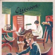 Coleccionismo Papel Varios: CATÁLOGO TELÉFONOS ERICSSON CONMUTADORES AUTOMÀTICOS LOCALES (GOTEBORG, 1929). Lote 179962841