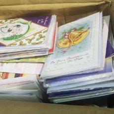 Coleccionismo Papel Varios: LOTE DE MAS DE 100 POSTALES DE NAVIDAD - CON CHIP - NO FUNCIONA. Lote 180033556