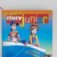 Coleccionismo Papel Varios: LA AGENDA DE MUY INTERESANTE JUNIOR 2005-06. PERFECTO ESTADO.. Lote 180194403