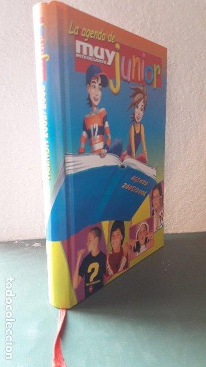 Coleccionismo Papel Varios: LA AGENDA DE MUY INTERESANTE JUNIOR 2005-06. PERFECTO ESTADO. - Foto 4 - 180194403