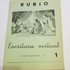 Coleccionismo Papel Varios: ANTIGUO CUADERNO DE ESCRITURA - RUBIO - 1 - TDKC37B. Lote 180205196
