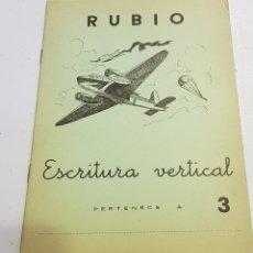 Coleccionismo Papel Varios: ANTIGUO CUADERNO DE ESCRITURA - RUBIO - 3 - TDKC37B. Lote 180205365