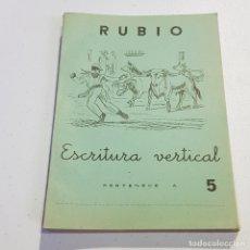 Coleccionismo Papel Varios: ANTIGUO CUADERNO DE ESCRITURA - RUBIO - 5 - TDKC37B. Lote 180205393