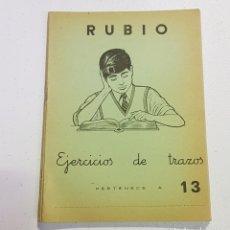 Coleccionismo Papel Varios: ANTIGUO CUADERNO DE ESCRITURA - RUBIO - 13 - TDKC37B. Lote 180205717