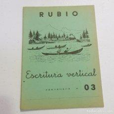Coleccionismo Papel Varios: ANTIGUO CUADERNO DE ESCRITURA - RUBIO - 03 - TDKC37B. Lote 180205740