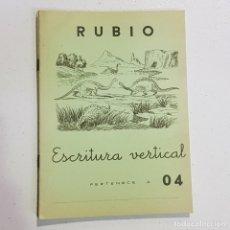 Coleccionismo Papel Varios: ANTIGUO CUADERNO DE ESCRITURA - RUBIO - 04 - TDKC37B. Lote 180205758