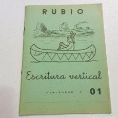 Coleccionismo Papel Varios: ANTIGUO CUADERNO DE ESCRITURA - RUBIO - 01 - TDKC37B. Lote 180205818