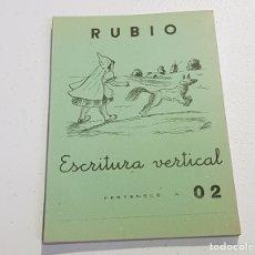 Coleccionismo Papel Varios: ANTIGUO CUADERNO DE ESCRITURA - RUBIO - 02 - TDKC37B. Lote 180205842