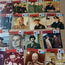 Coleccionismo Papel Varios: FICHAS DE GUERRA. Lote 180234325