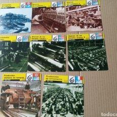 Coleccionismo Papel Varios: FICHAS DE GUERRA. Lote 180234768