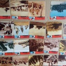 Coleccionismo Papel Varios: FICHAS DE GUERRA. Lote 180235291