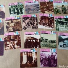 Coleccionismo Papel Varios: FICHAS DE GUERRA. Lote 180236173