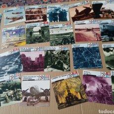 Coleccionismo Papel Varios: FICHAS DE GUERRA. Lote 180236501