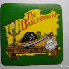 Coleccionismo Papel Varios: POSAVASOS CARTON LLORET MAR THE BUCCANEER. Lote 180274016