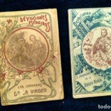 Coleccionismo Papel Varios: DEVOCIONES ESCOGIDAS LAS JORNADAS DE LA VIRGEN DE NAZARET A BELÉN ED. S: CALLEJA. MADRID 1898-99. Lote 180501997