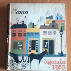 Altri oggetti di carta: LIBRO AGENDA 1965 DE LA REVISTA AMA. Lote 180861537