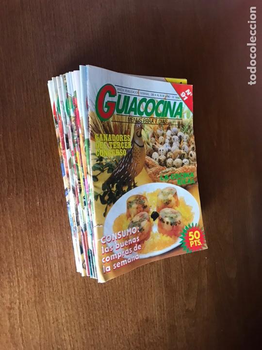 """Coleccionismo Papel Varios: LOTE DE 18 REVISTAS """" GUIACOCINA"""" - Foto 3 - 181451042"""