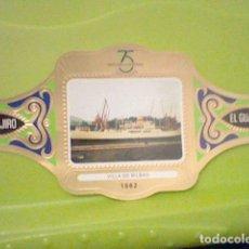 Altri oggetti di carta: VILLA BILBAO Nº 21 BARCO BUQUES PASAJEROS VITOLA EL GUAJIRO PROMOCIONAL 75 TRASMEDITERRANEA. Lote 182019013