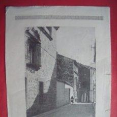 Coleccionismo Papel Varios: UBEDA.-CALLE DE ROQUE ROJAS.-GRAFICAS BELLON.-LAMINA.-UBEDA.. Lote 182056533