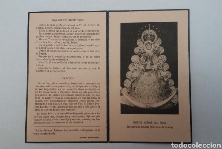 Coleccionismo Papel Varios: RECORDATORIO S.A.R DOÑA LUISA FRANCISCA DE ORLEANS DE BORBON 1958 SEVILLA, HAUSER Y MENET - Foto 2 - 182065782