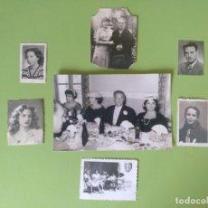 Coleccionismo Papel Varios: LOTE 7 FOTOGRAFÍAS AÑOS 40. Lote 182596621