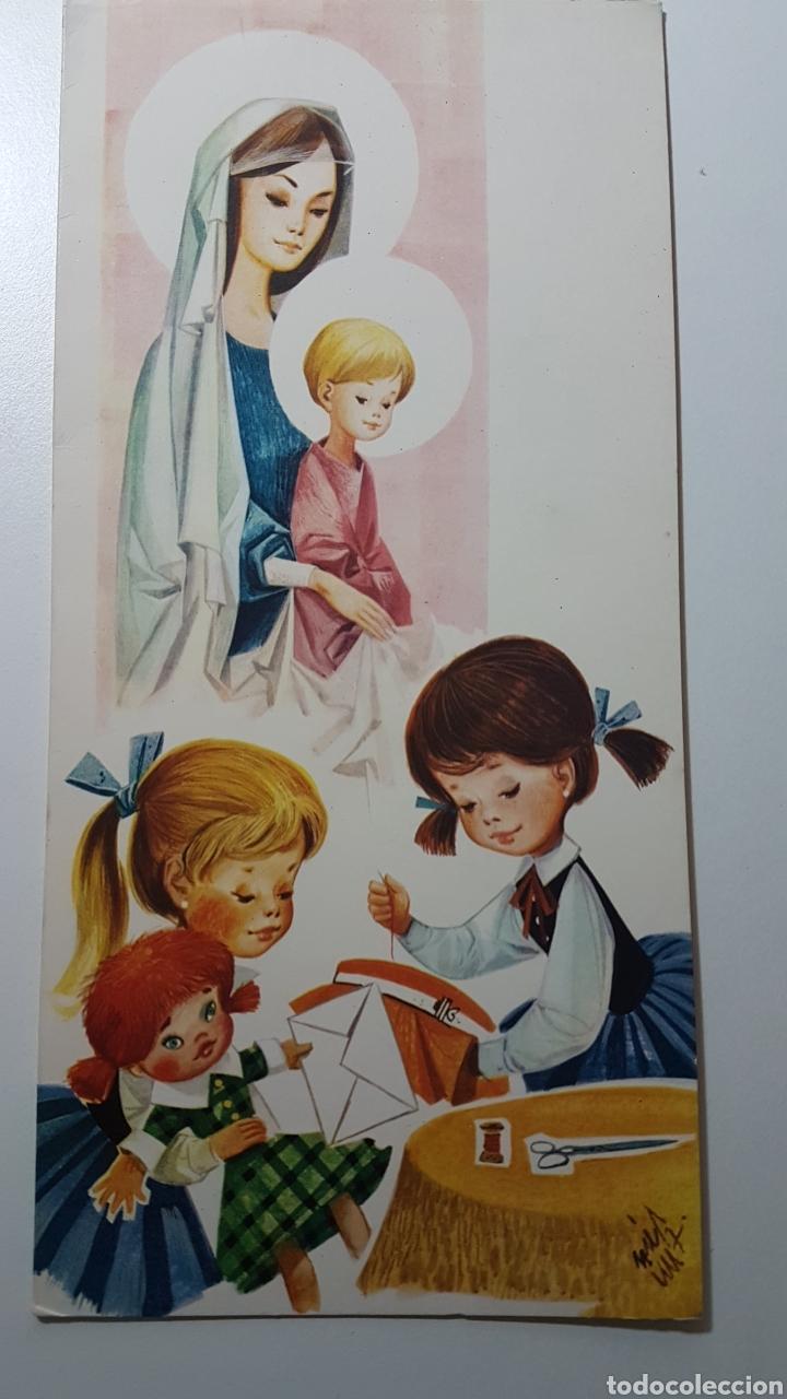 DÍPTICO ILUSTRADO POR JOSÉ LUIS - NAVIDAD NIÑO JESÚS - GAISA 1001/C - 109 X 228 MM (Coleccionismo en Papel - Varios)