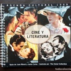 Coleccionismo Papel Varios: AGENDA CULTURAL 1999 CINE Y LITERATURA CÍRCULO DE LECTORES NUEVA. Lote 182745181