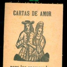 Coleccionismo Papel Varios: CARTAS DE AMOR PARA LOS ENAMORADOS - SIGLO XIX . Lote 182850858