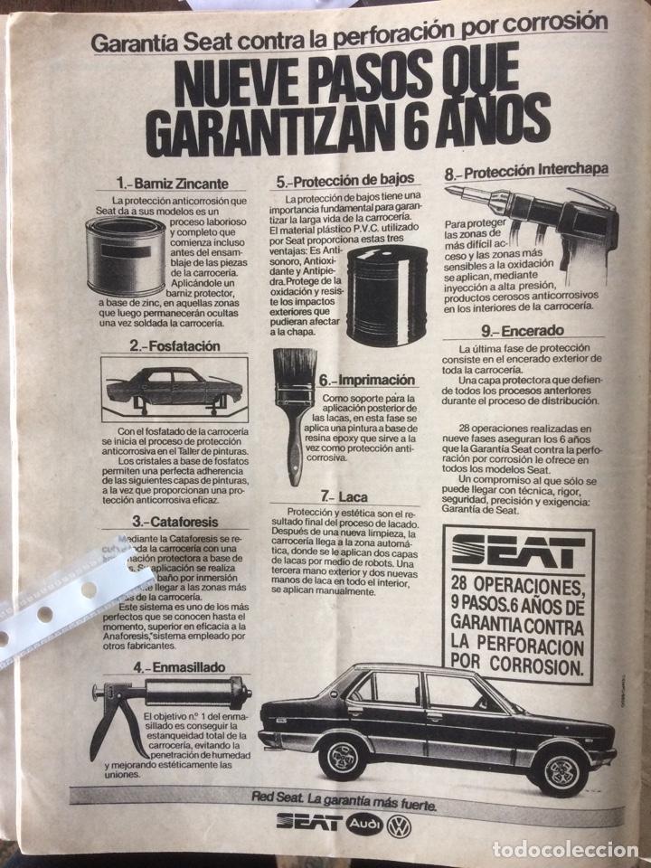 PUBLICIDAD AUTOMÓVIL SEAT DE 1983 (Coleccionismo en Papel - Varios)