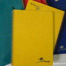 Coleccionismo Papel Varios: LOTE 8 CUADERNOS / BLOC AMBASSADOR. CUARTILLA.. Lote 183463490