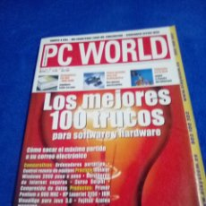 Coleccionismo Papel Varios: REVISTA PC WORLD AÑO 2000. Lote 183530193