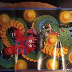 Coleccionismo Papel Varios: POSTER DRAGON BALL / BOLA DE DRAGON / GOKU REVISTA TELE INDISCRETA. Lote 183834160