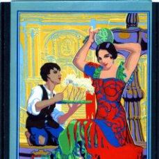 Coleccionismo Papel Varios: LAMINA=GRANDES FIESTAS EN MALAGA AÑO 1926=VER FOTO ADICIONAL DEL REVERSO .. Lote 184434816