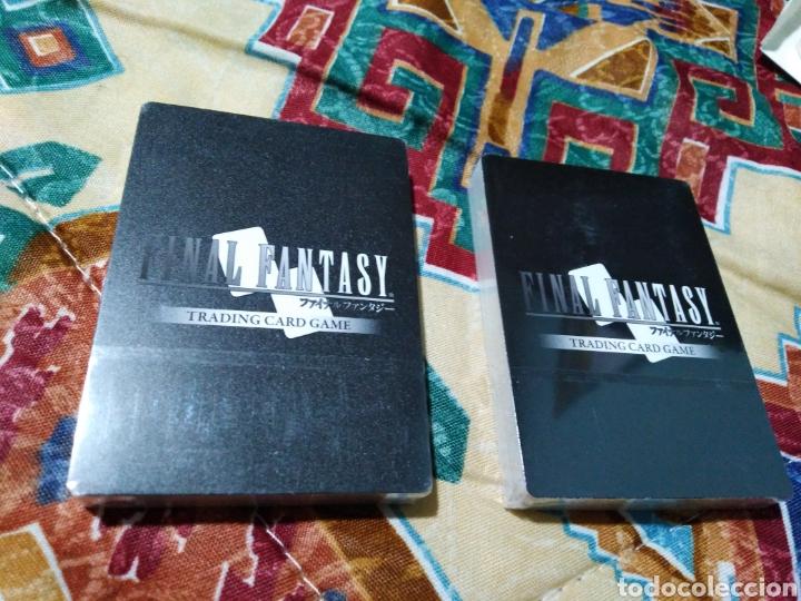 Coleccionismo Papel Varios: Final fantasy cartas nuevas plastificadas - Foto 3 - 184586097