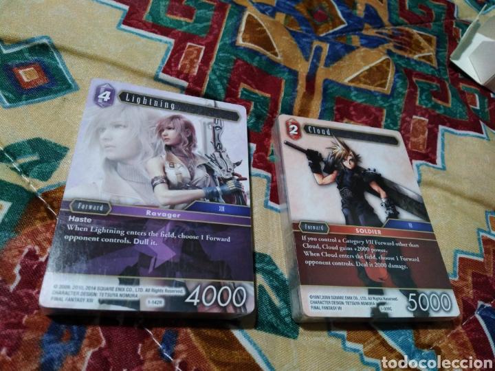 Coleccionismo Papel Varios: Final fantasy cartas nuevas plastificadas - Foto 4 - 184586097
