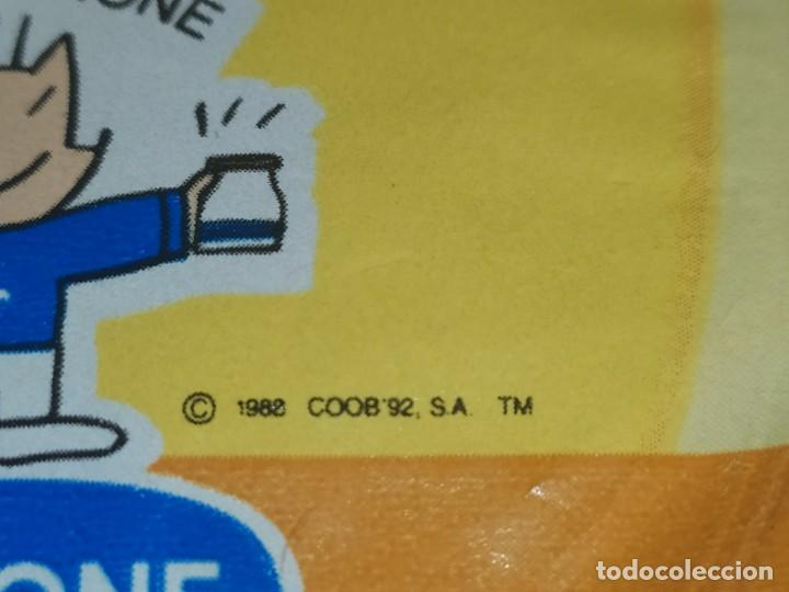 Coleccionismo Papel Varios: ANTIGUA TAPA NATILLAS DANONE COBI 1988/ 1992 - Foto 3 - 185920055