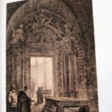 Coleccionismo Papel Varios: MALLORCA PUERTA DE LA SALA CAPITILAR DE LA CATEDRAL DE PALMA 1855 PARCERISA. Lote 185990585