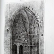 Coleccionismo Papel Varios: MALLORCA PUERTA DEL MIRADOR DE LA CATEDRAL DE PALMA 1855 PARCERISA. Lote 185990866