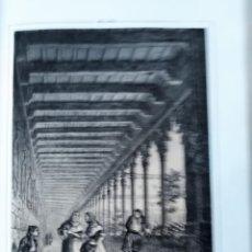 Coleccionismo Papel Varios: MALLORCA CLAUSTRO DE LOS FRANCISCANOS 1855 PARCERISA. Lote 185991130