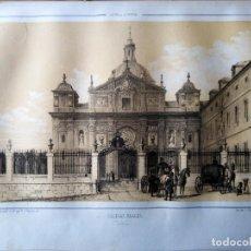 Coleccionismo Papel Varios: MADRID SALESAS REALES 1855 PARCERISA. Lote 185996262