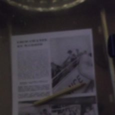 Altri oggetti di carta: RECORTE AÑO 1956 - MADAME COCO CHANEL EN MADRID . REPORTAJE DE MARTIN CAMINOS. Lote 186167466