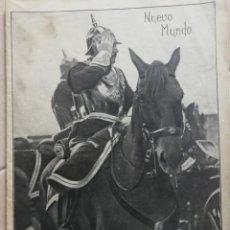 Coleccionismo Papel Varios: NUEVO MUNDO.REVISTA ANTIGUA ILUSTRADA.AÑO 1908. NUMERO 774.. Lote 186311446