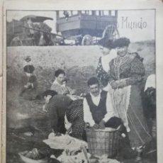 Coleccionismo Papel Varios: NUEVO MUNDO.REVISTA ANTIGUA ILUSTRADA.AÑO 1906. NUMERO 672.. Lote 186311806