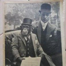 Coleccionismo Papel Varios: NUEVO MUNDO.REVISTA ANTIGUA ILUSTRADA.AÑO 1909. NUMERO 807. Lote 186314391